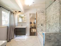 Small Bathroom Makeovers by Marvelous Decoration For Small Bathroom Makeovers With Glossy Tile