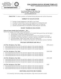 chronological resume format 12 general career objective resume samplebusinessresume com certified nursing assistant resume objective resumeobjective resume objective statements nursing cna resume builder cna certified nursing