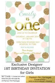1st Year Baby Birthday Invitation Cards Best 25 Glitter First Birthday Ideas On Pinterest First