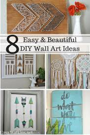 Bedroom Wall Decor Ideas Diy Wall Art Decor Ideas 50 Beautiful Diy Wall Art Ideas For Your