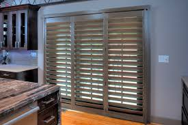 wooden plantation shutters for sliding glass doors u2014 home ideas