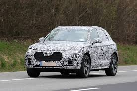 2016 audi q5 spotted with new grille and interior autocar