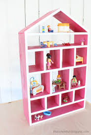 Free Woodworking Plans Wall Shelf by Build A Dollhouse Wall Shelf Free And Easy Diy Project And