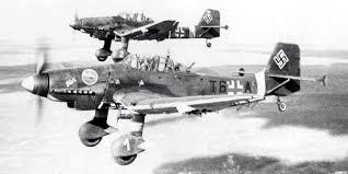 2 Junker Ju-87 en vol