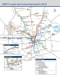 Downtown Dallas Map by Dart Year In Review Fy 2013