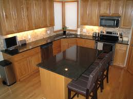 dark grey countertops with oak cabinets google search kitchen