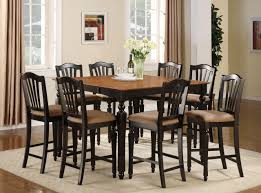 Counter Height Dining Room Tables by Details About 9 Pc Square Dinette Dining Room Table Set And 8