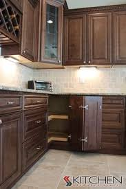 Kitchen Cabinets Stain Kitchen Of The Day A Lovely Kitchen With Rich Chocolate Stained