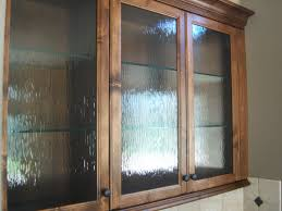 Kitchen Cabinets Inside Interior Bubble Glass Kitchen Cabinet Doors Throughout Beautiful