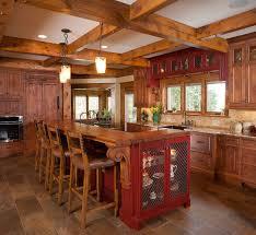 log cabin kitchen ideas genuine home design