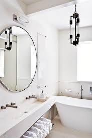 interiors bathroom mirrors white bathrooms and three floor