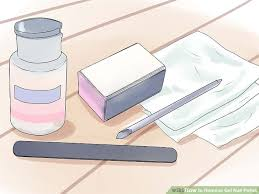how to remove gel nail polish with pictures wikihow