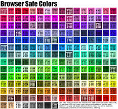 Best Color Codes 5 Best Images Of Html Color Chart Benzie Color Chart Html Color