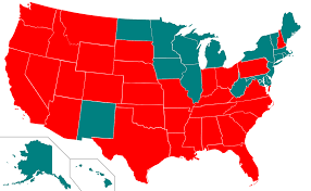 Usa States And Capitals Map by Capital Punishment In The United States Wikipedia