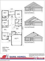 Home Builder Floor Plans by Maria Vista Adams Homes