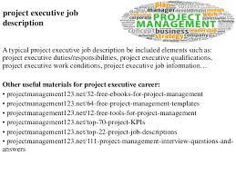 Secretary Job Description For Resume by Job Description For Business Development Manager Recruitment Job