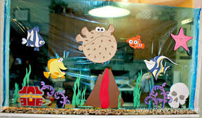 Finding Nemo Centerpieces by Finding Nemo Birthday Ideas Finding Nemo Birthdays And Birthday
