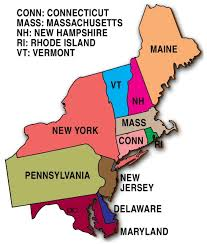 United States Map Delaware by West Coast Of The United States Wikipedia Northeast State Map
