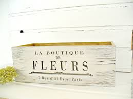 buy wooden crates wooden storage boxes home decor french decor
