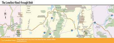 Map Of Utah And Colorado by The Loneliest Road Us 50 Driving Route Road Trip Usa