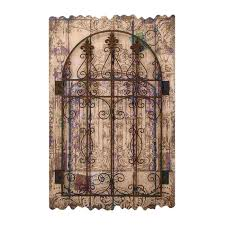 home design superb large iron wall decor 7 rustic wood art metal