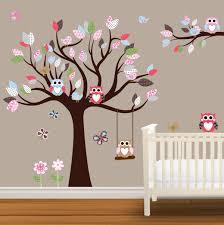 Tree Decal For Nursery Wall by Baby Nursery Decor Flower Baby Nursery Decal Tree Stickers Sample