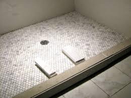 hexagon tile shower floor decor ideas pinterest tile showers