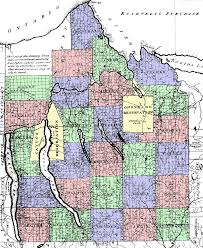 New York County Map by Central New York Military Tract Wikipedia