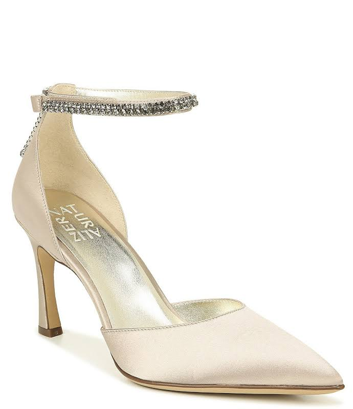 Naturalizer Alyssa Heels Gold- Womens