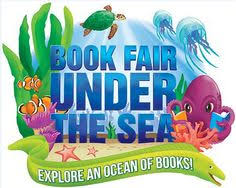 Image result for under water book fair clipart
