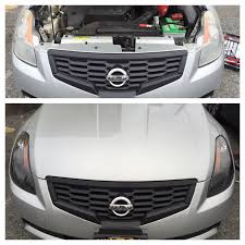 nissan altima coupe black swapped the old chrome headlights on my altima coupe with new