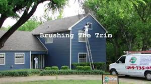 exterior house painting dallas ft worth spray painting