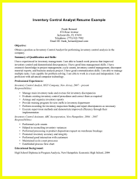Inventory Specialist Resume Sample by Inventory Resume Sample Gallery Creawizard Com