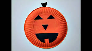 paper plate halloween crafts youtube
