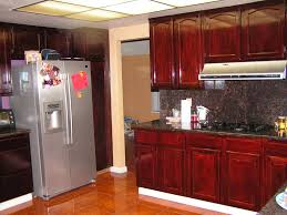 the process of staining kitchen cabinets u2014 decor trends
