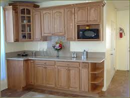 kitchen unfinished pine cabinets floating shelves lowes