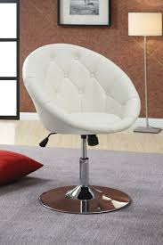 Swivel Dining Room Chairs Coaster Fine Furniture 102583 Round Tufted Swivel Chair