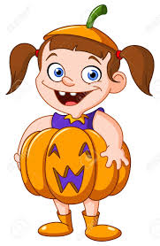 halloween cute clipart cute young in a pumpkin costume celebrating halloween royalty
