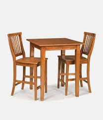 home styles arts u0026 crafts cottage oak bistro table set 5180 359