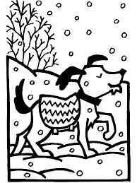 winter coloring pages coloring kids