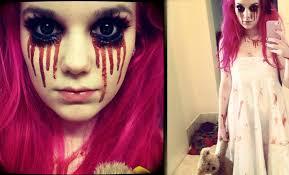 Halloween Barbie Makeup by Creepy Little Halloween Makeup Tutorial Youtube