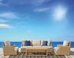 Resin Wicker Patio Furniture Sets - deep seating wicker patio furniture sets i spacious design