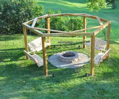 How To Make A Fire Pit In Backyard by Porch Swing Fire Pit 12 Steps With Pictures