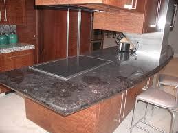 stainless steel utensil hanging bar custom kitchen island dark