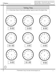 time telling worksheets worksheets for kids u0026 free printables