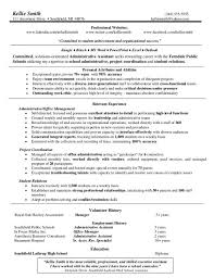 Administrative Assistant Resume Templates  sales manager resume