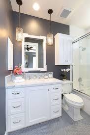 lighting bathroom vanity ideas grey glass tiles mosaic wall design