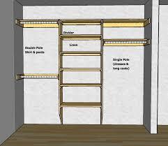 How To Make Closet Shelves closet shelving layout u0026 design thisiscarpentry
