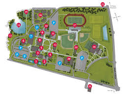 Chicago Parking Map by Campus Location And Maps Benedictine Chicago Catholic