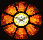 stained glass 01. Salt of the earth, light of the world. Matthew 5:13-20
